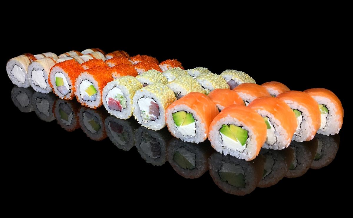 Суши-сеты с бесплатной доставкой от 22 руб./до 1450 г от Urbanfood.by!